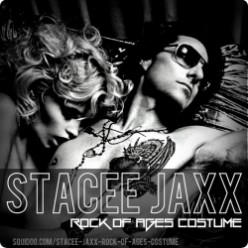 Stacee Jaxx Rock of Ages Costume and Makeup