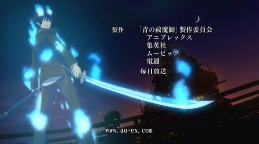 Blue Exorcist opening
