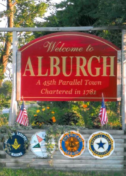 45th Parallel Towns- Alburgh, VT