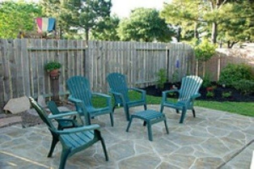 Recycled Plastic Adirondack Furniture