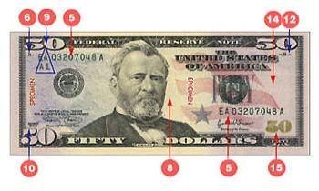 Detecting fake bills