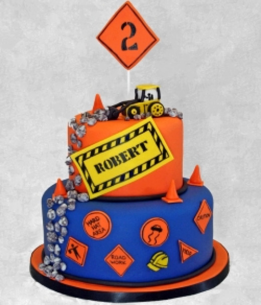Awesome Construction Cake