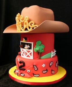 Amazing Farm Themed Birthday Cakes