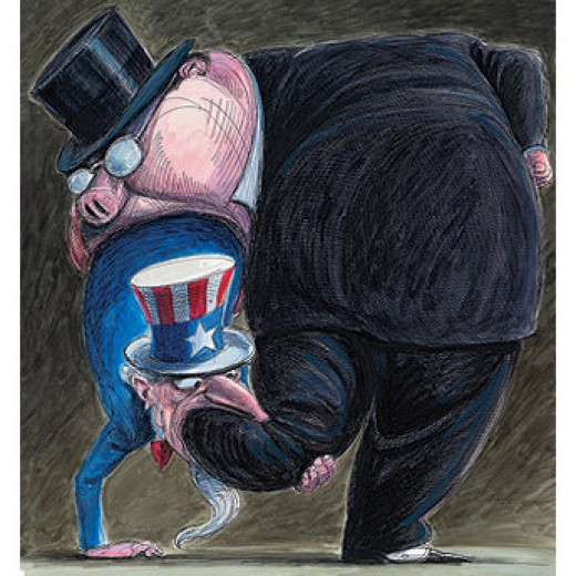 Illustration by Victor Juhasz in Rolling Stone