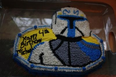Captain Rex Birthday Cake