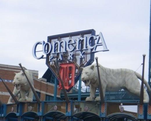 Detroit's Comerica Park, Detroit, MI