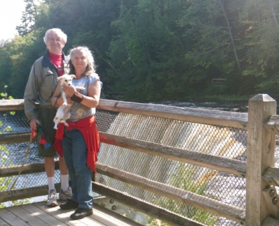Lexie travels to  Tahquamenon Falls in Michigan's Upper Penninsula