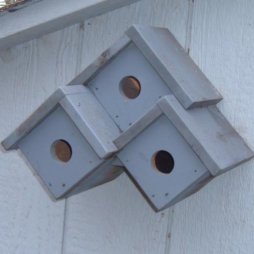 Birdhouse ideas inspiration 10 different birdhouse Wine cork birdhouse instructions