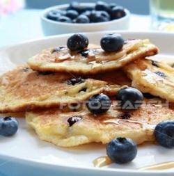 Blueberry Pancakes! Yum!!