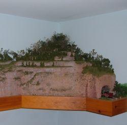 Easy to make model railroad scenery