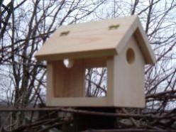 Bluebird Feeder Plans: How to Make a Bluebird Feeder