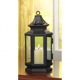SKU 13361 Black Stagecoach Lantern