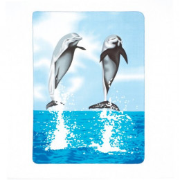 SKU 37248 Dolphin Fleece Blanket