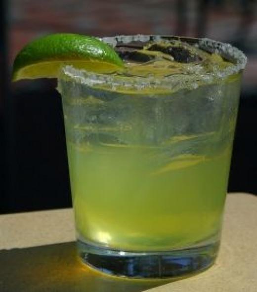 Simple Margarita On the Rocks