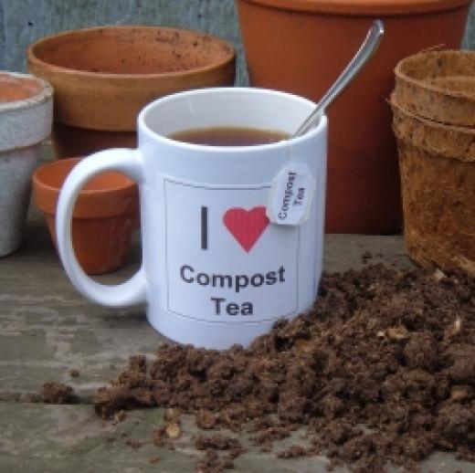Homemade Compost Tea