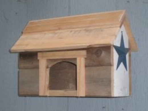 Rustic Nest Box from Salvaged Wood