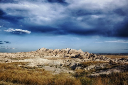 More of the Badlands.