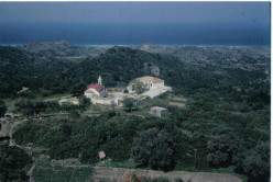 Located about 6km from Mesanagros, it is famous for its miraculous icon of the Blessed Virgin Mary (Panayia Skiatheni).