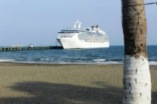 Coral Princess by Paperfacets | Costa Rica Port-of-Call