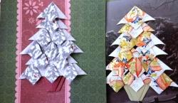 Christmas tea bag folding