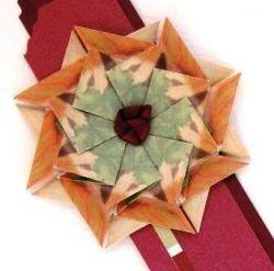 paper craft medallion