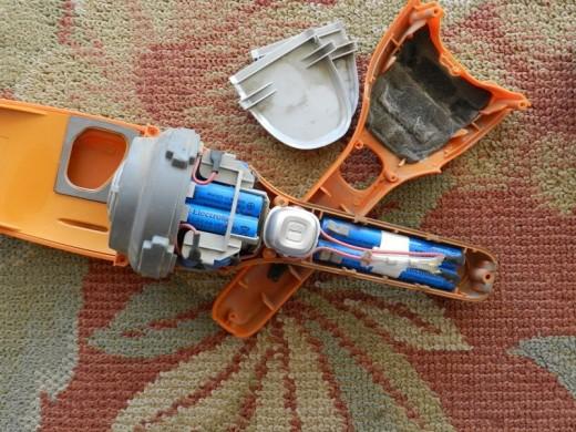 electrolux ergorapido battery. look inside ergorapido handheld electrolux battery p