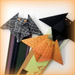 How To Origami Bat Bookmark