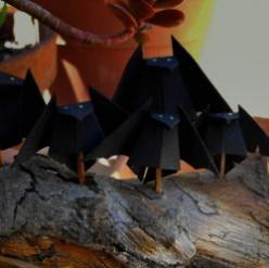 The Artful Halloween Origami Bat