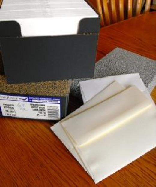 envelopes for card making