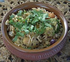 Vegetable Biriyani -  Tamil Nadu style