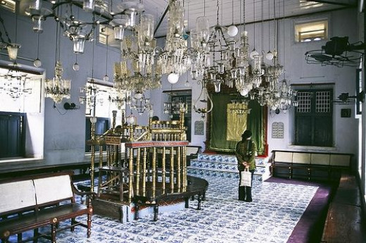 Synagogue at Cochin