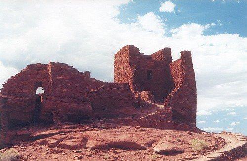 Wupatki Ruins.