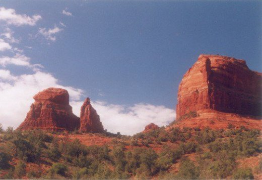 Red rocks of Sedona. I think I got this photo from Schnebly Hill Road, but don't quote me on it.