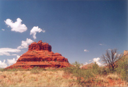 Reminds me of a bell. I think the name reflects that, too, but I don't remember what it is called. Close to Sedona.