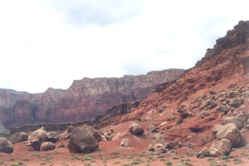 Boulders in Glen Canyon.