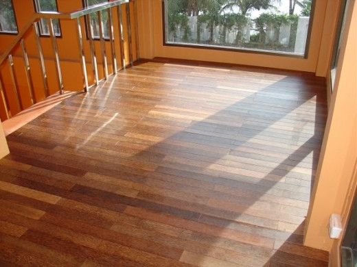 What is coconut wood flooring?