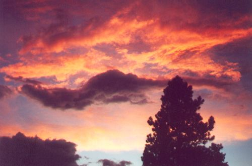 There is still fire in the sky!