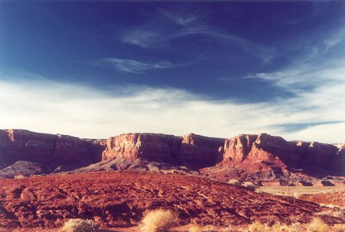 Vermilion Cliffs from a distance