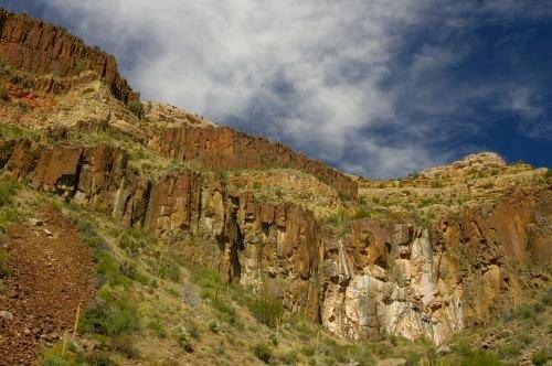 Spectacular cliffs.