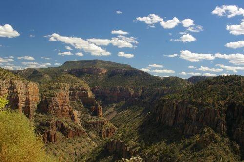 Salt River Canyon.