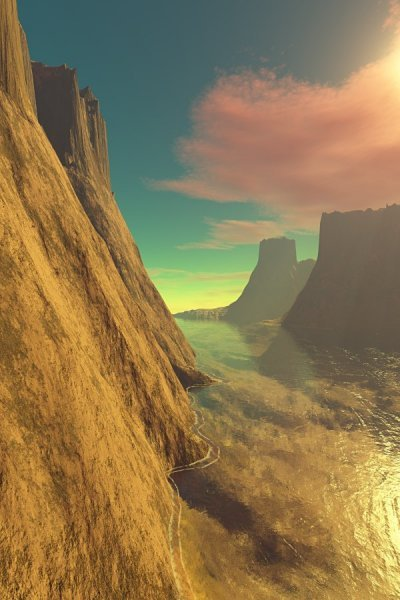 Lucid Waters - An early fantasy image.