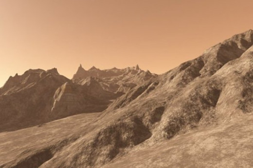 Desolate - An attempt to simulate the surface of Mars.