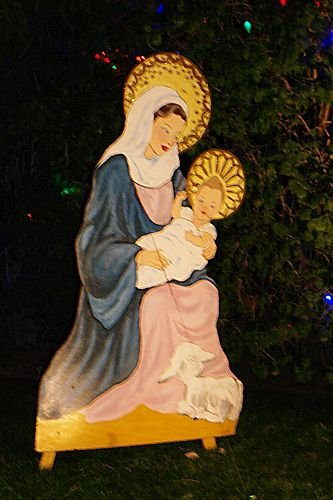 Mary and Baby Jesus.