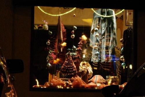 Display in shop window.