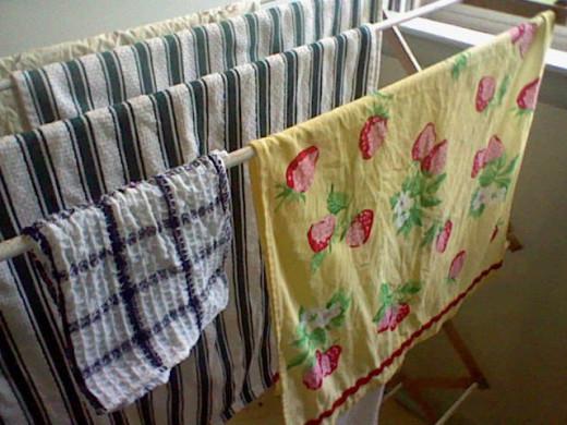 I love my laundry rack!