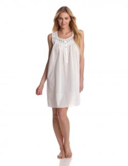 short white cotton nightgown