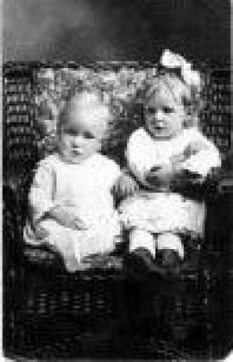 tower children old photo