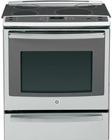 GE PHS920SFSS Profile 30 inch Stainless Steel Electric Slide-In Induction Range - Convection
