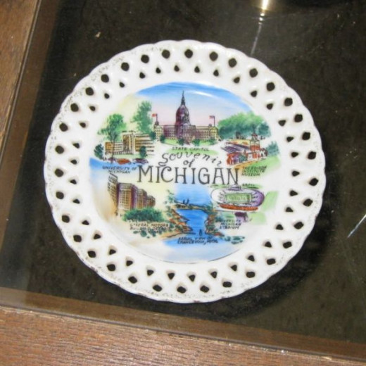 State plate from Michigan.