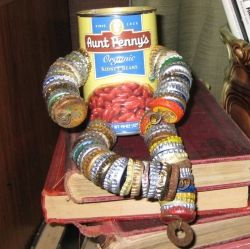 Check out How to Make a Tin Can Man for instructions on making this guy.